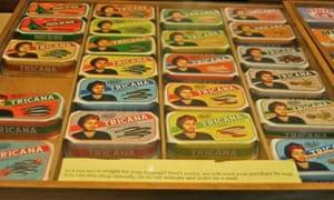 Tricana sardine tins