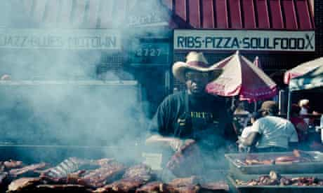 BBQ man at Eastern Market