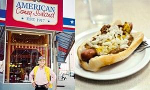 American Coney Island and Lafayette Coney Dog
