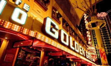 Golden Gate Hotel Casino Las Vegas Nevada NV USA