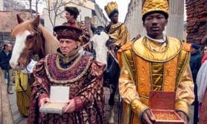 Milan celebration of the Magi