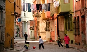 Street life in Fener