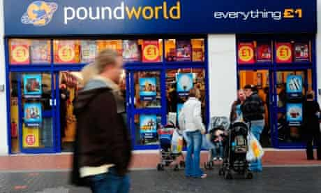 Poundworld store