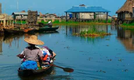 The fishing village of Ganvié.
