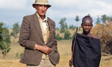 Wilfred Thesiger in Kenya.