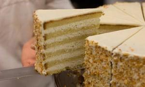 Peninsula Grill's coconut cake