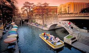San Antonio riverfront