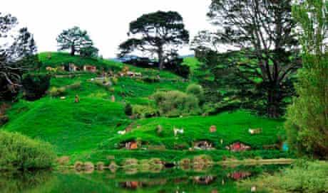 View of Hobbiton Village