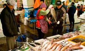 Seoul  Noryangjin Fish  Market