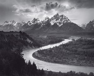 Ansel Adams: The Tetons and the Snake River, Grand Teton National Park, Wyoming, 1942
