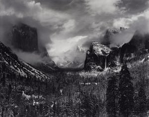 Ansel Adams: Clearing Winter Storm, Yosemite National Park, California, about 1940–42.