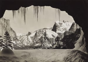 Ansel Adams: Ansel Adams: From Wawona Tunnel, Winter, Yosemite