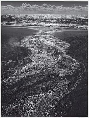 Ansel Adams: Ansel Adams: Stream, Sea, Clouds, Rodeo Lagoon