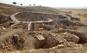 The current dig near Urfa, Turkey