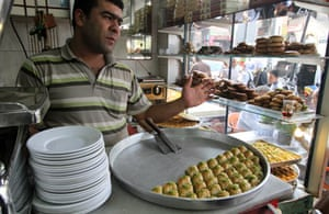 pastry shop in urfa