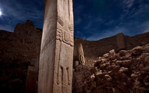 Pillars at the temple of Gobekli Tepe may represent priestly dancers.
