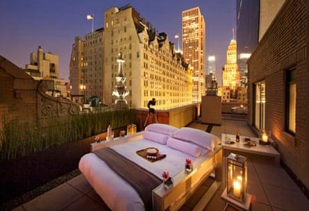 Outdoor Bedroom, AKA Central Park, New York