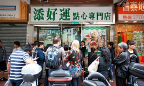 Tim ho wan michelin starred restaurant in Hong Kong