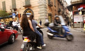 A scooter tour of Naples   Travel   The Guardian