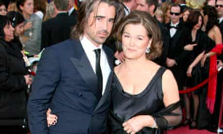 Colin Farrell and mother