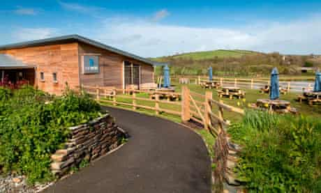 The Weir, cafe and wildlife centre, Bude; Cornwall; UK