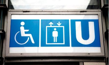 Berlin, Subway sign,