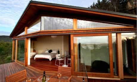 Kokohuia Lodge in New Zealand