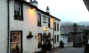 Golden Rule pub at Ambleside