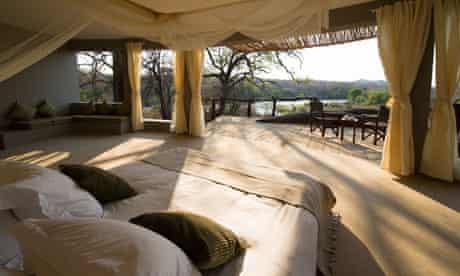 View from chalet at Mkulumadzi lodge