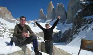 Andrew Gilchrist in Patagonia