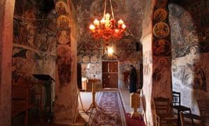 Byzantine murals