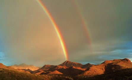 Rainbow over the Sierra Madre