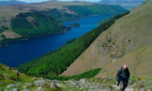 Thirlmere from Helvellyn, Cumbria