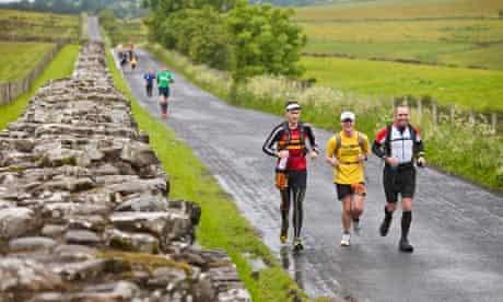 Hadrian's Wall ultra-run