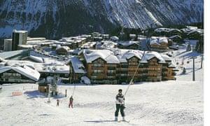 Courchevel ski lift