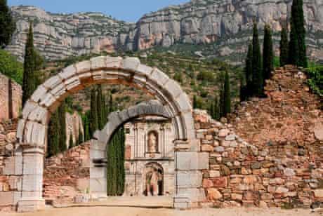 PRIORAT ruins, Catalonia
