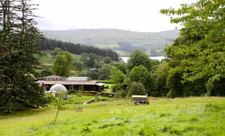 View of the Ecoyoga retreat