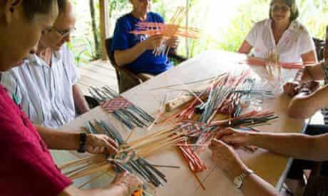 Living crafts at Ock Pop Tok