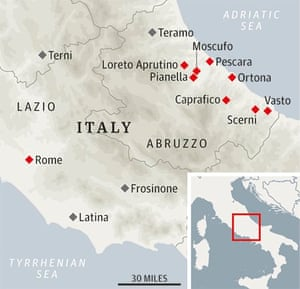 A foodie autumn break in Abruzzo, Italy | Travel | The Guardian