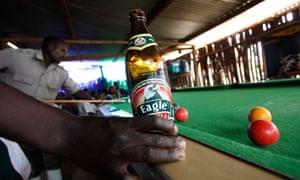 SABMiller's Eagle lager