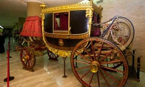 A 'Gala Berlin carriage, made around 1825 for Pope Leo XII