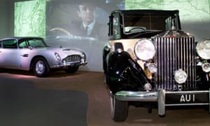 James Bond cars at Beaulieu Motor Museum