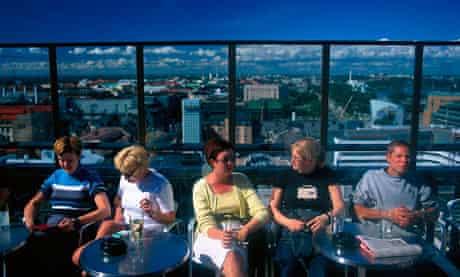 Ateljee sky bar, Helsinki Finland