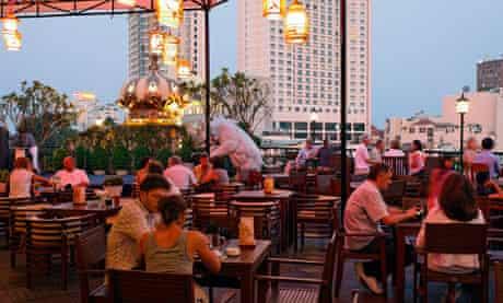 Roof Garden bar, Rex Hotel, Ho chi minh City