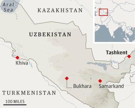 Golden smiles on the road to Uzbekistan | Travel | The Guardian