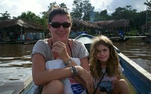 Emily with mum Annie
