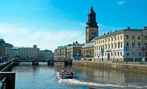 Stora Hamn Kanalen, Gothenburg.