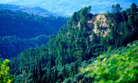 Arcadia mountains