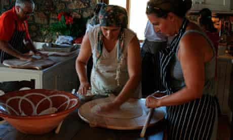 Cooking classes at Costa Navarino