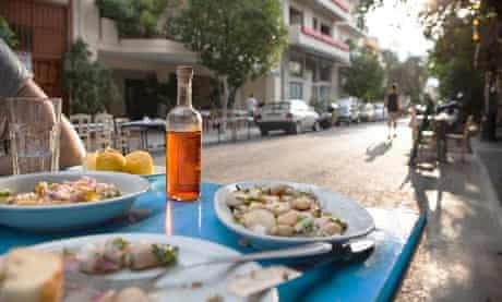 A food tour of Athens
